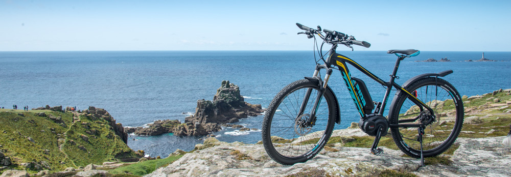 Wisper electric bikes from Top Gear Ltd, Penryn, Cornwall